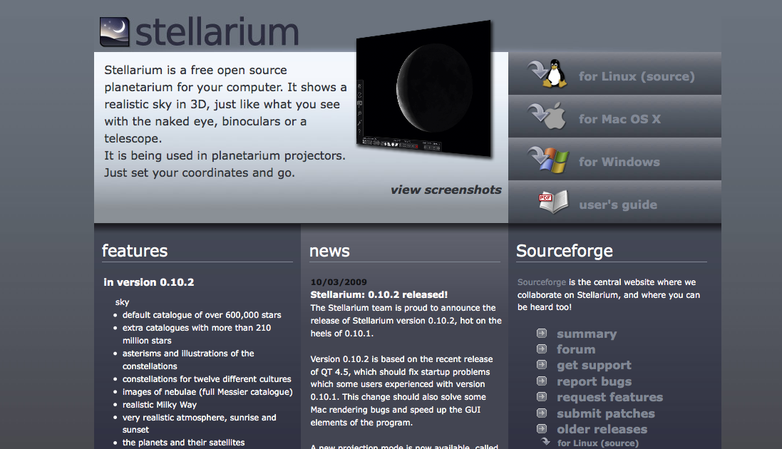 Applied Math and Science Education Repository - Stellarium