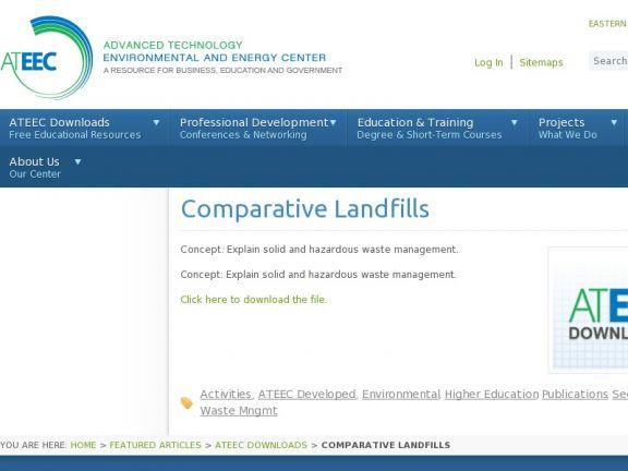 """""""Comparative Landfills"""" icon"""