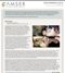 AMSER Science Reader Monthly - December 2010