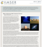 AMSER Science Reader Monthly - July 2011